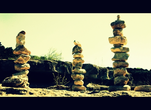six-foot-cairns