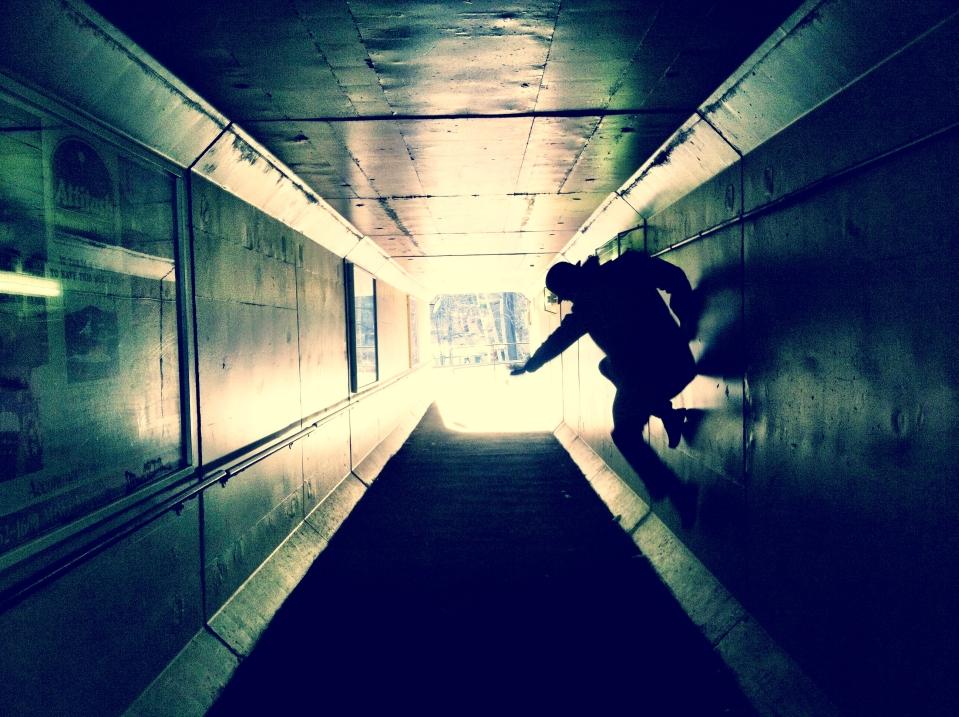 tunnel skater